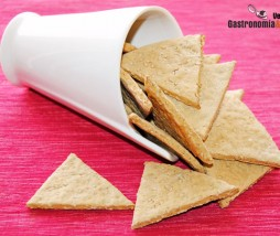 Crackers de sésamo exprés