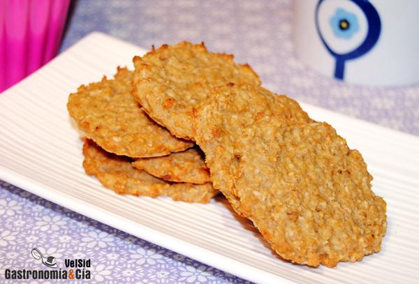 Galletas De Avena Y Compota De Manzana Gastronomía Cía