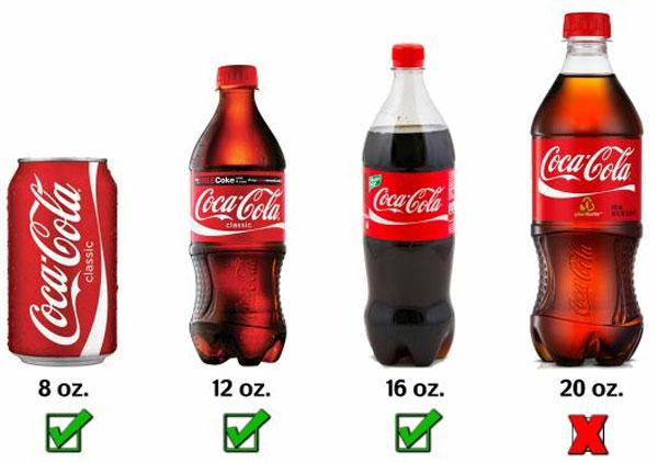 Refrescos de más de medio litro
