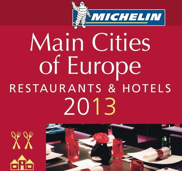 Guía Michelin ciudades de Europa