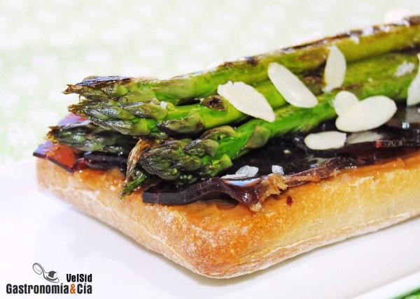 Recetas con esp rragos trigueros o verdes gastronom a c a - Comidas con esparragos ...
