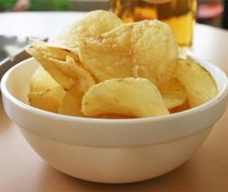 Grasas patatas chips