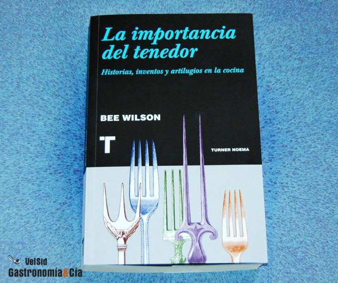 Libro sobre la historia y evolución de los utensilios de cocina
