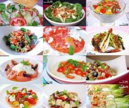 Ensalada con tomate
