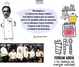 Ferrán Adrià i la fàbrica de menjar solidari