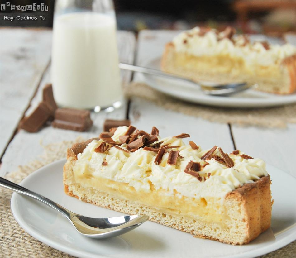 Hoy Cocinas Tú: Tarta holandesa de crema