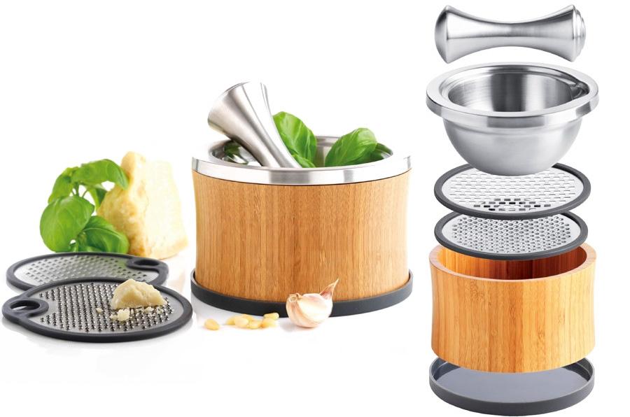 Mortero y rallador mastrad gastronom a c a for Rallador de cocina