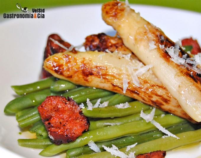 Recetas con verduras para una cena ligera - Como preparar unas judias verdes ...