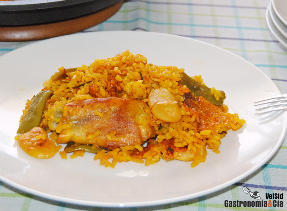 Receta de paella valenciana for Cocina valenciana