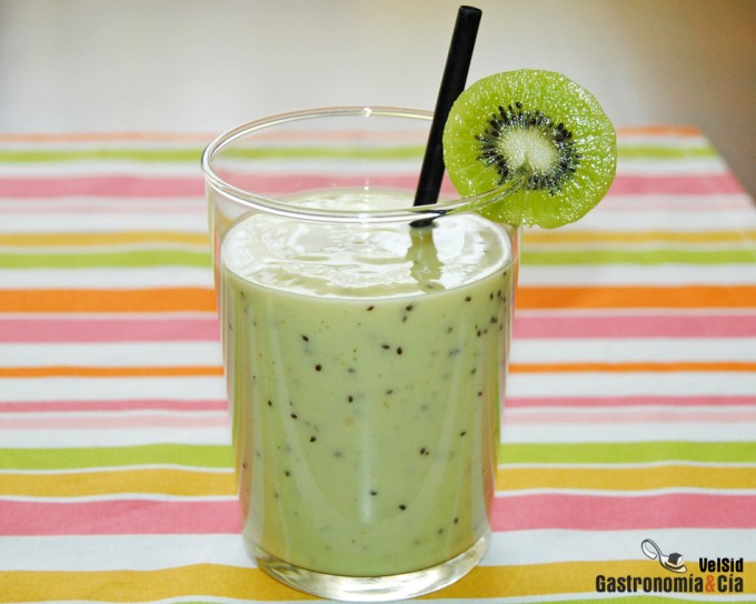 Smoothie de kiwi gastronom a c a - Batidos de kiwi ...