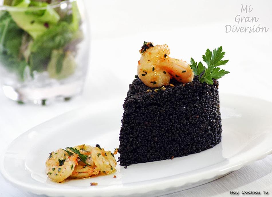 Hoy Cocinas Tú: Cuscús negro con gambas