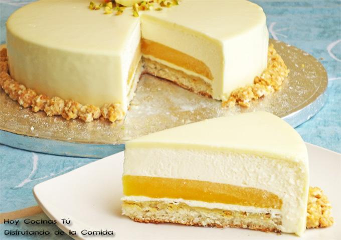 Baño Blanco Thermomix: Tú: Tarta de chocolate blanco, yogur y mango – Recetas de cocina