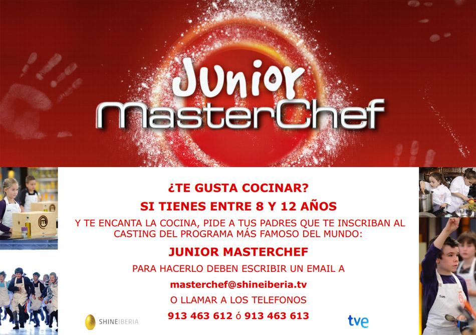 Recetas de cocina de MasterChef Junior 3