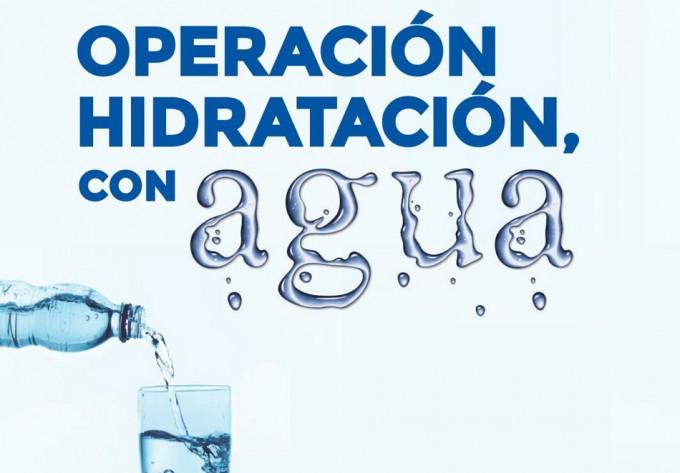 Campaña hidratación con agua