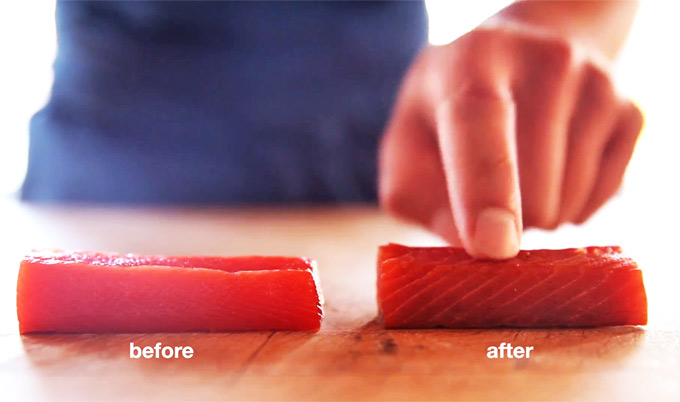 Secar salmón