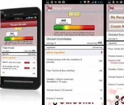 calculadora de calorías de recetas