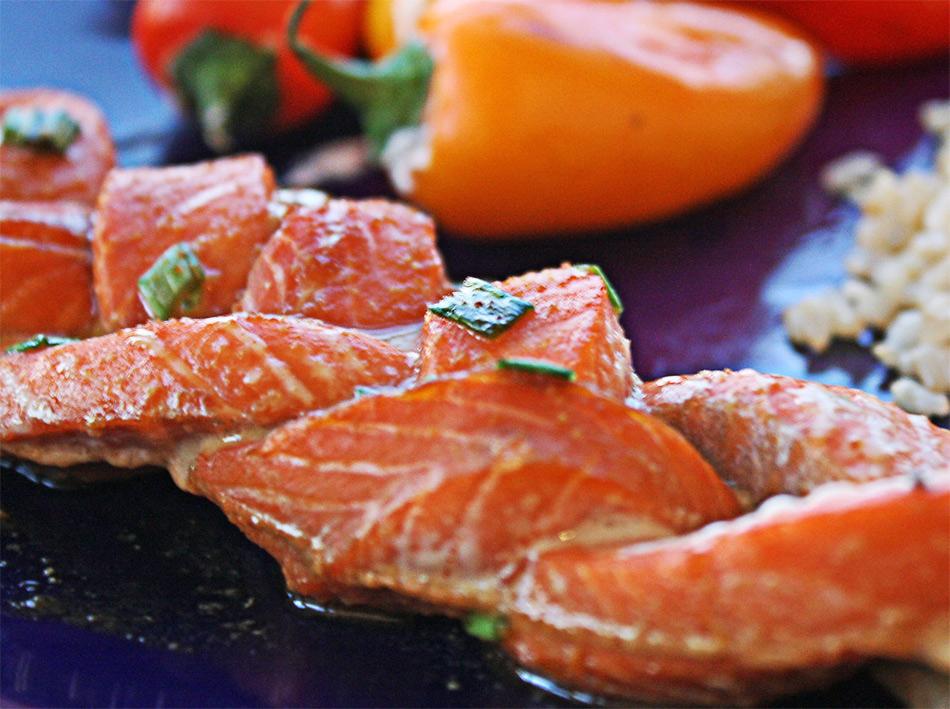 C mo se prepara un pescado en tresse gastronom a c a for Como se cocina el salmon