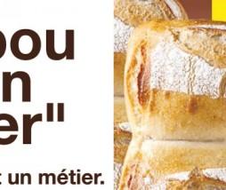 La marca de panaderías en Francia