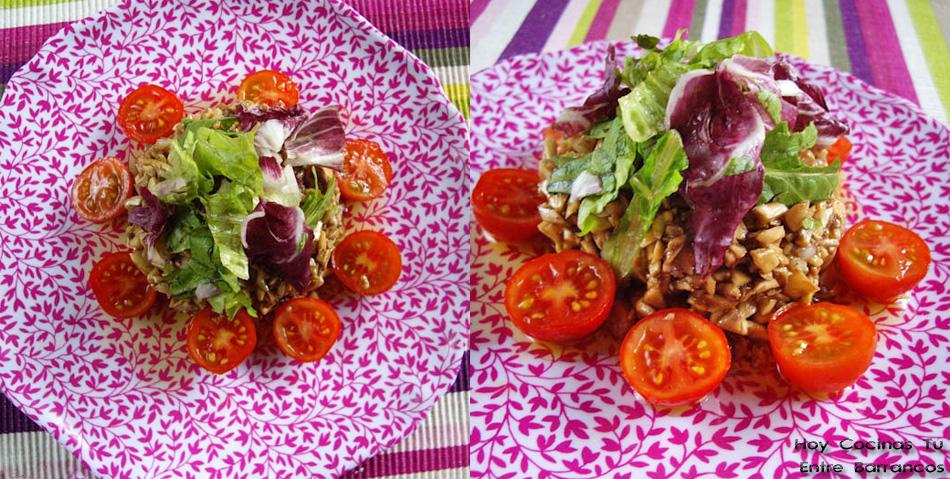 Hoy Cocinas Tú: Tartar de champiñones