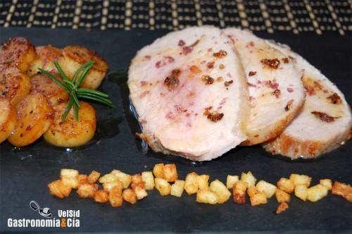 Receta de lomo al horno con patatas - Patatas pequenas al horno ...
