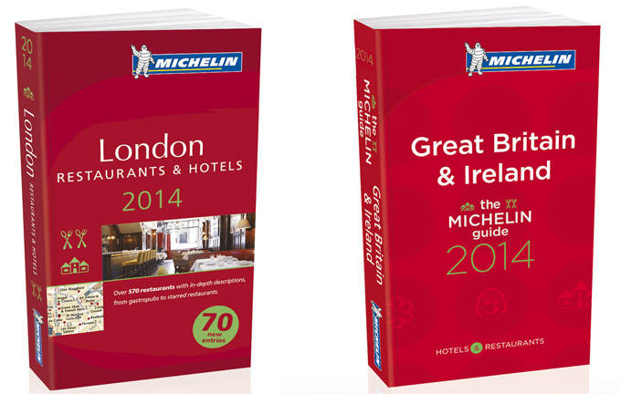 Guía Michelin del Reino Unido