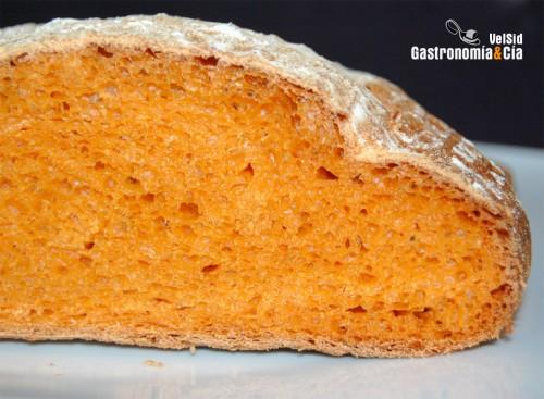 receta pan con tomate
