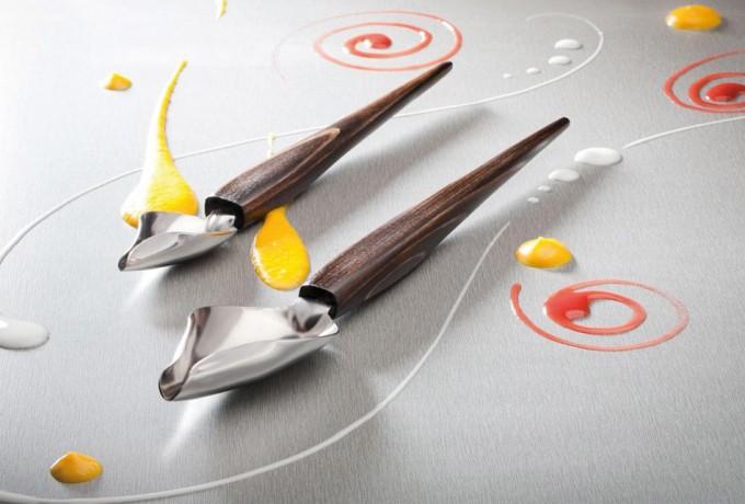 Deco spoon cuchara para decorar platos gastronom a c a - Cuchara de postre ...