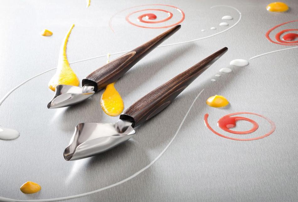 Deco spoon cuchara para decorar platos gastronom a c a for Decoracion de platos gourmet pdf