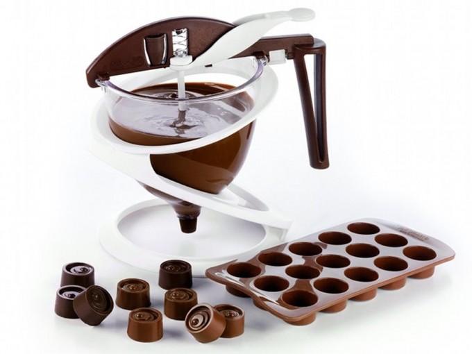 Embudo y dosificador para chocolate for Utensilios de cocina usos