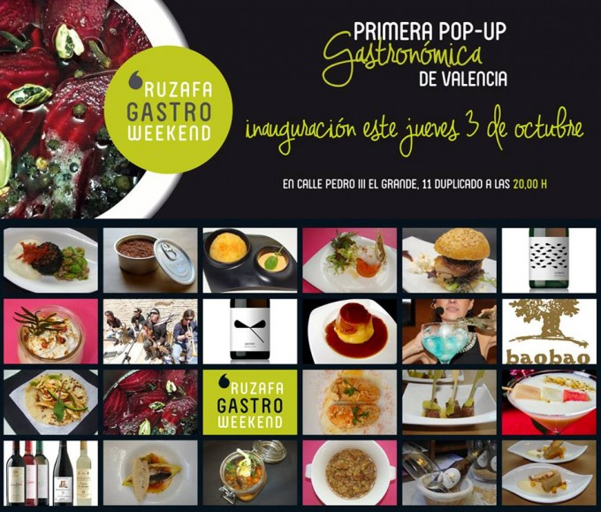 Pop up en Valencia