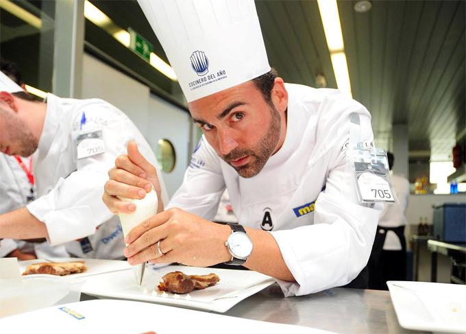 tercer semifinalista del Concurso Cocinero del Año 2014