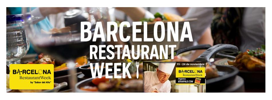 Barcelona Restaurant Week Noviembre 2013