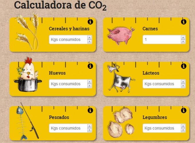 calculadora CO2
