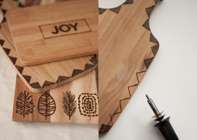 Cucharas de madera personalizadas - Decorar tabla madera ...