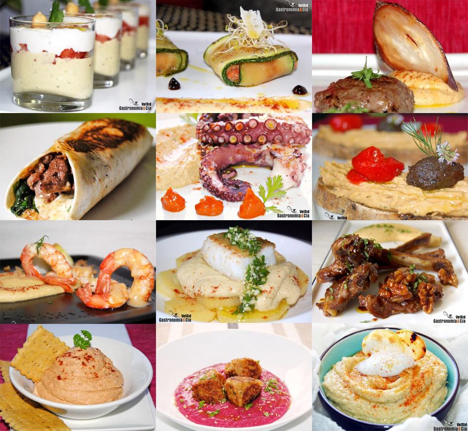 Doce recetas con hummus gastronom a c a - Cocina y cia ...