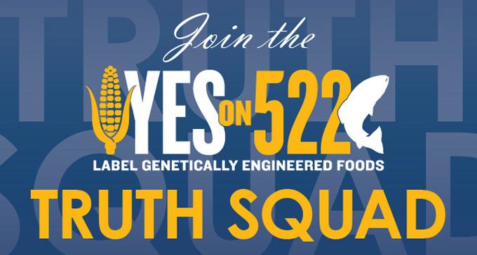 Alimentos modificados genéticamente en Washington