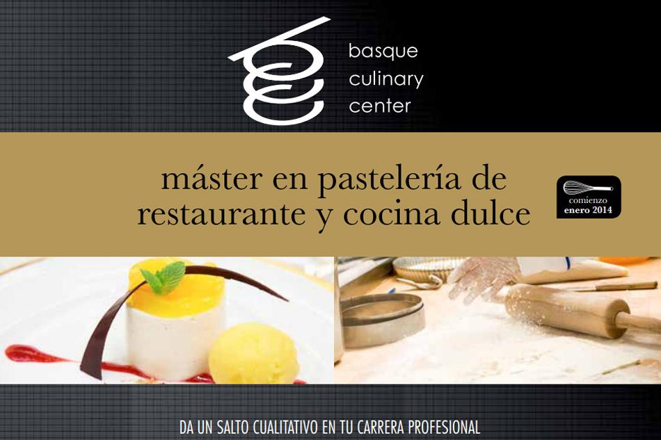 M ster en pasteler a de restaurante y cocina dulce - Cocina y cia ...