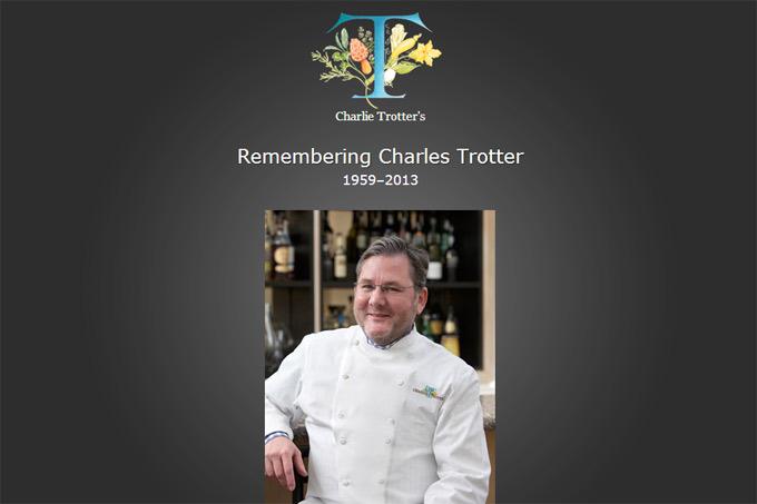 Charlie Trotter ha muerto