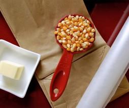 Hacer palomitas de maíz en el microondas