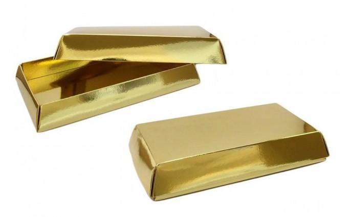 Turrón lingote de oro