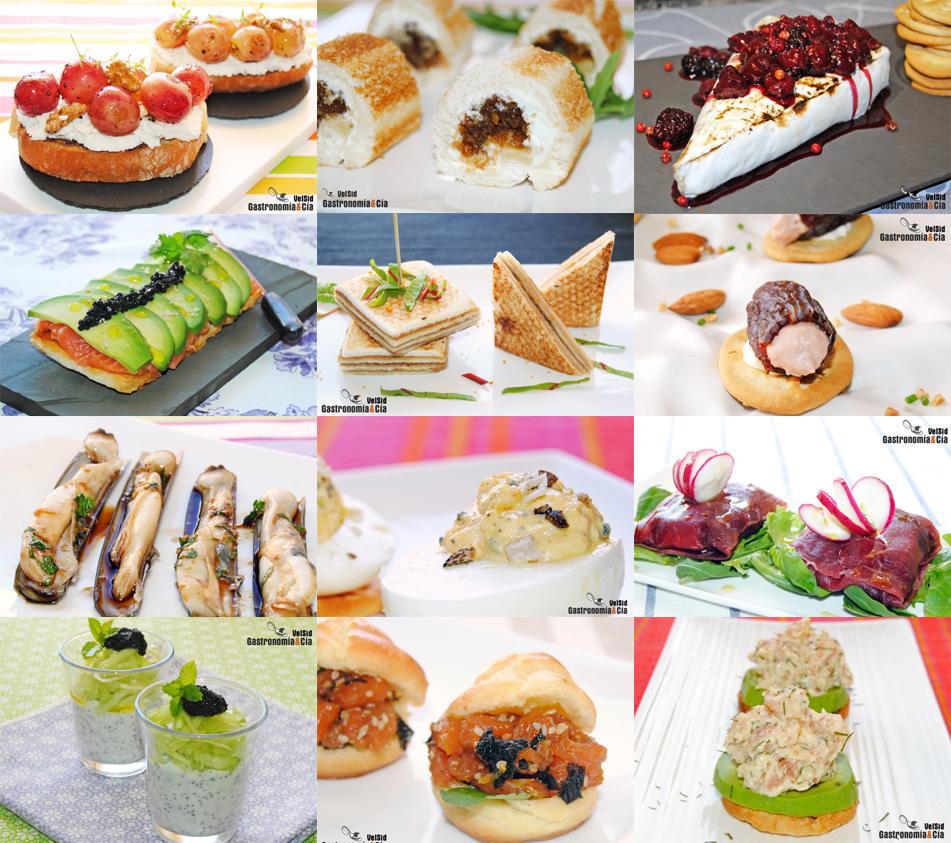 Doce aperitivos y canap s f ciles para navidad for Ideas de comidas faciles