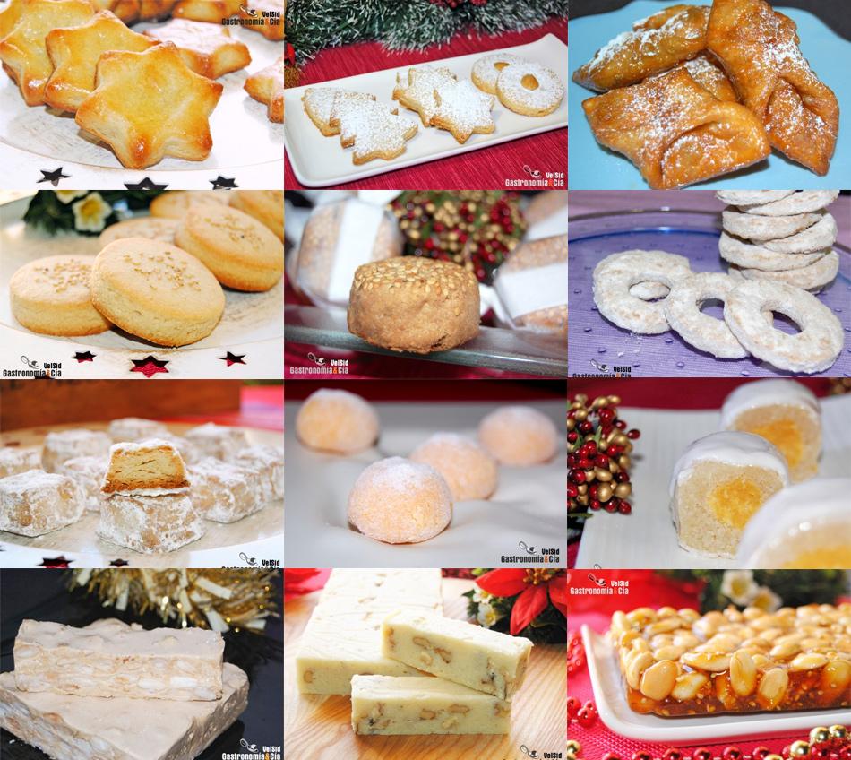 Cocina Dulce | Doce Recetas De Dulces Tradicionales De Navidad Gastronomia Cia