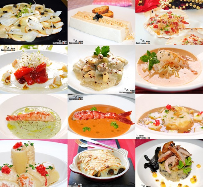 Doce recetas de entrantes navide os f ciles for Platos para aperitivos