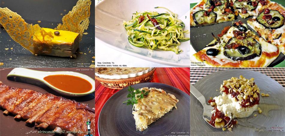 las recetas de hoy cocinas tu: