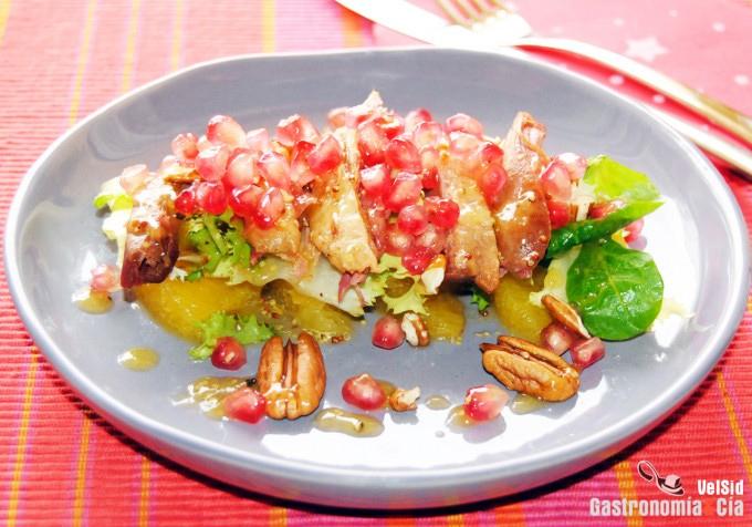 Recetas de ensaladas para navidad faciles