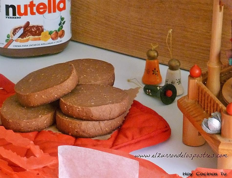 Hoy Cocinas Tú: Polvorones de Nutella