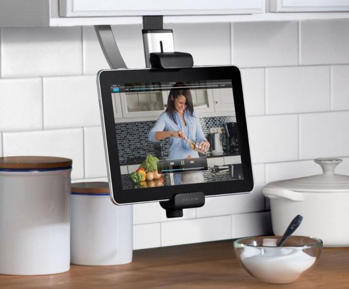 Soporte de tableta para muebles de cocina - Soporte tablet mesa ...