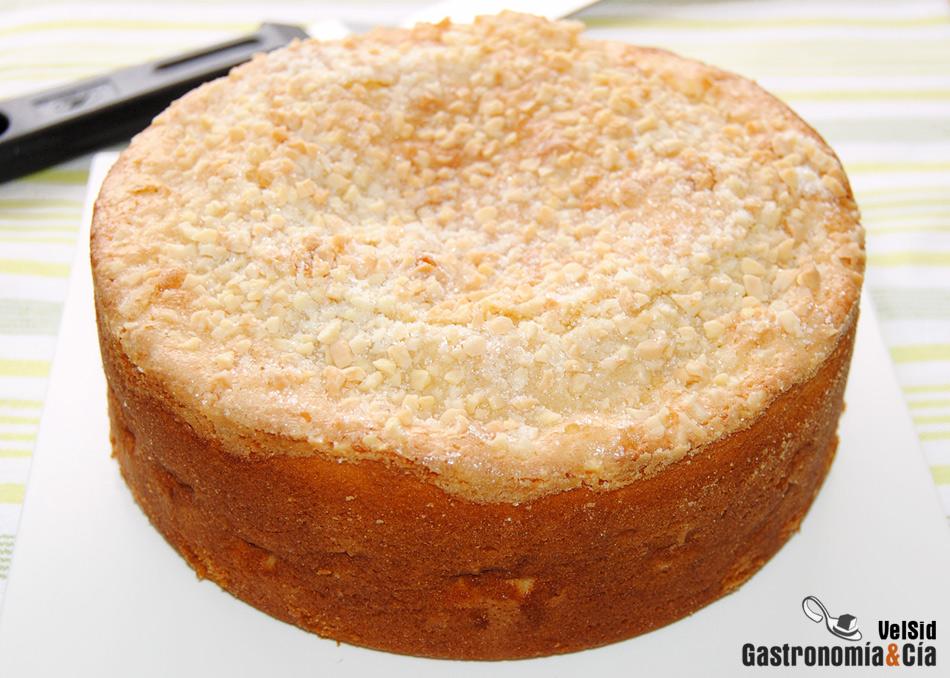 Bizcocho de manzana y jengibre for Bizcocho de yogur y almendra