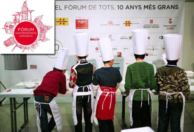 Concurso 'Cociñeiro Junior' Escuela Álvaro Cunqueiro Fórum Gastronómico