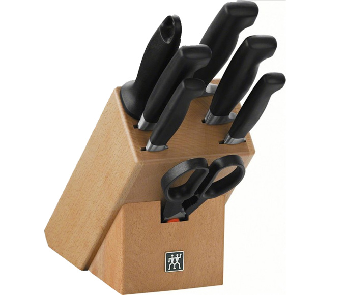 Truco de cocina cuida tus cuchillos incluso en el bloque - Como hacer soporte para cuchillos ...